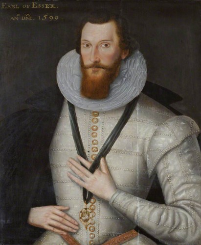 The dashing Robert Devereux, Earl of Essex