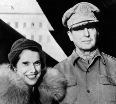 Douglas and Jean MacArthur