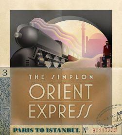 orient express poster