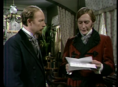 John Neville (right) as Dr Thorndyke 1971