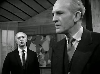Peter Copley (right) as Dr Thorndyke 1964