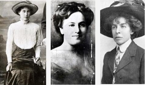 The Brides in the Bath - Bessie Mundy, Alice Burnham and Margaret Lofty