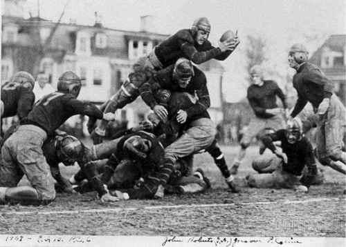 1929 - when men were men and football was war