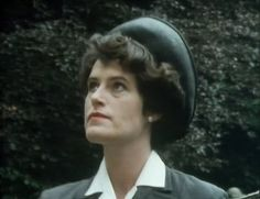 Jill Meager as Lucy Eyelesbarrow in the Joan Hickson version