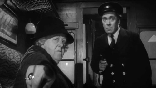 Margaret Rutherford as Miss Marple in Murder, She Said