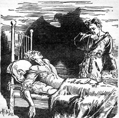 Original spoilerish illustration from Weird Tales