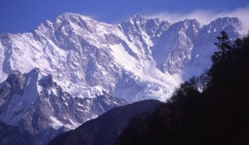 kangchenjunga south-eest face