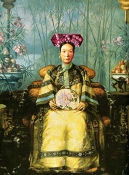 Portrait of Tzu Hsi by Hubert Voss (1906)