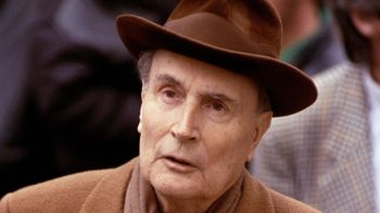 Mitterrand and his hat...
