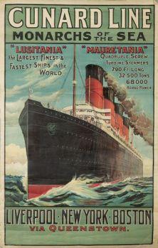 lusitania-advertising-poster