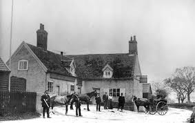The Ship Inn, Blaxhall, circa 1900.